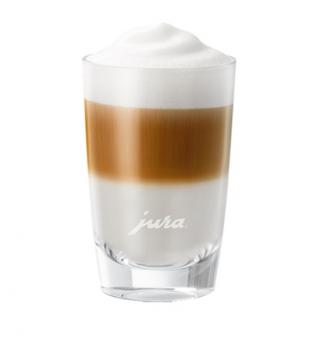 Jura Latte-macchiato-Glas [klein]
