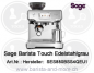 Mobile Preview: Sage the Barista Touch™ Gebürstetes Edelstahlgrau