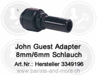 John Guest Adapter 8mm/6mm Schlauch [PM060806E ]