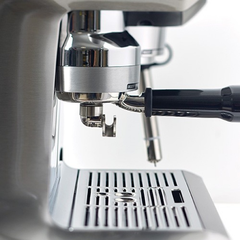 the Oracle™ Touch Espresso in Gebürsteter Edelstahl optimaler wasserdruck